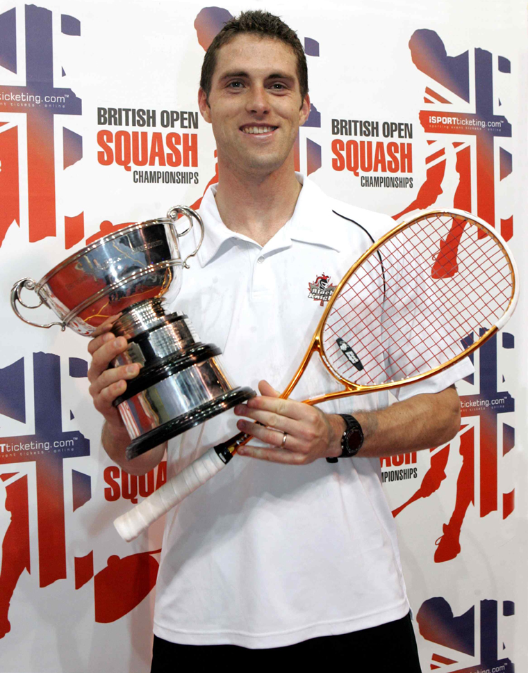 Palmer with his British Open Trophy